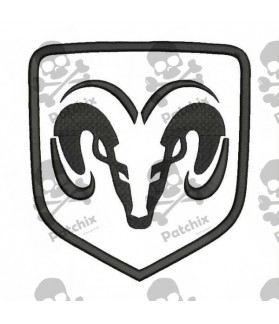 Embroidered Patch DODGE