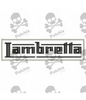 Embroidered patch LAMBRETTA