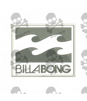 Embroidered Patch Iron Patch BILLABONG
