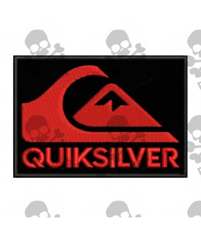 Embroidered Patch Iron Patch QUIKSILVER