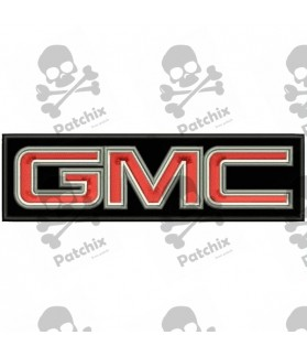 Embroidered Patch Iron Patch GMC