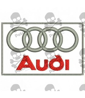 Embroidered Patch AUDI