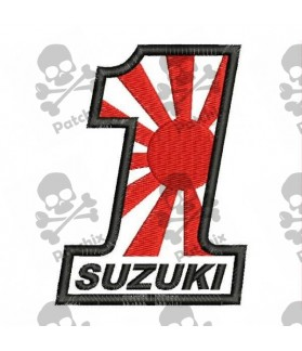 Embroidered patch SUZUKI N1 (Kamikaze)