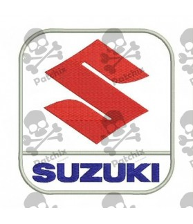 Embroidered patch SUZUKI