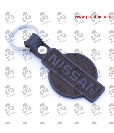 Key ring LEATHER NISSAN