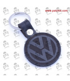 Key ring LEATHER VOLKSWAGEN LOGO