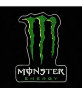 Embroidered patch MONSTER ENERGY