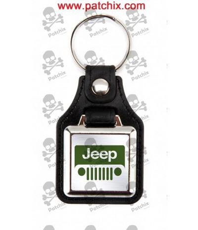 Key chain NICKEL JEEP
