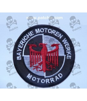 Iron patch BMW
