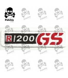 Iron patch BMW R1200 GS