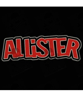 Embroidered patch ALLISTER