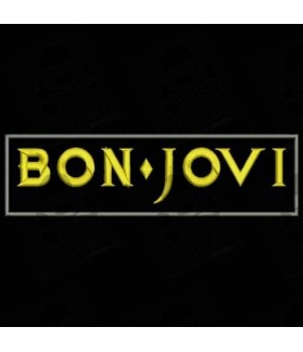 Embroidered patch BON JOVI