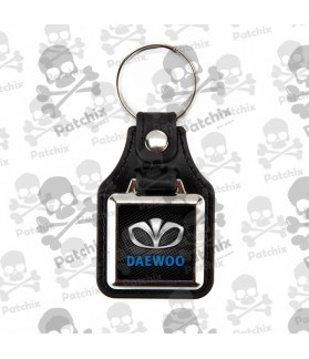 Key chain NICKEL LEATHER BACKGROUND DAEWOO