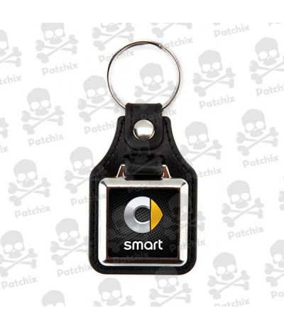 Key chain NICKEL LEATHER BACKGROUND SMART