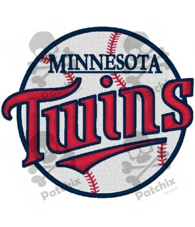 Embroidered Patch MINNESOTA TWINS