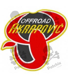 Iron patch AKRAPOVIC