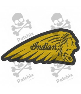 Embroidered patch INDIAN