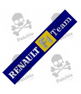 Embroidered Patch RENAULT TEAM