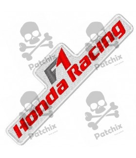 Embroidered Patch HONDA RACING