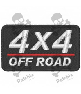 Embroidered Patch 4X4 OFF ROAD