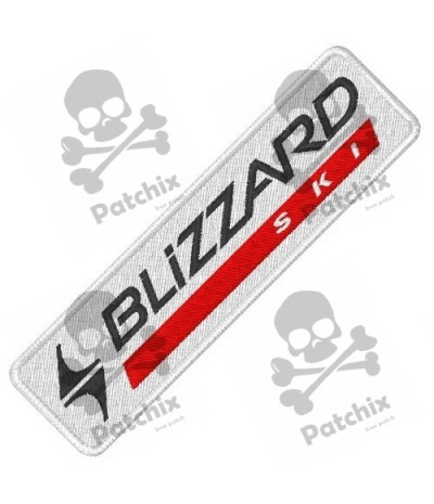 Embroidered Patch BLIZZARD