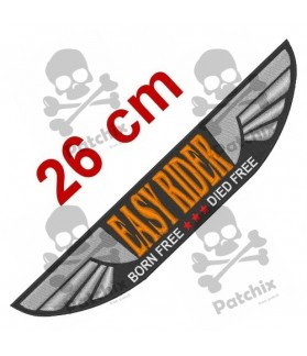 Embroidered Patch EASY RIDER XXL