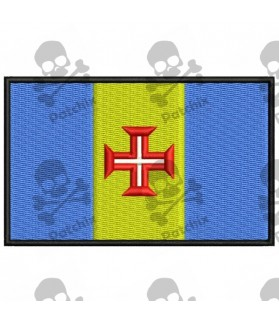 Embroidered Patch FLAG MADEIRA