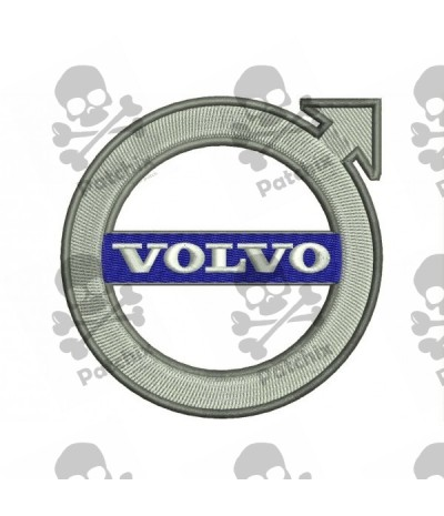 Embroidered Patch VOLVO NEW LOGO