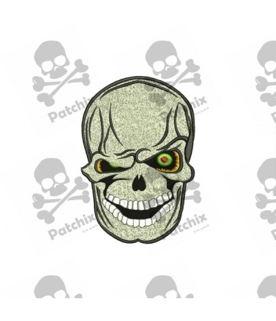 Embroidered patch SKULL
