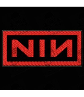 Embroidered patch NIN