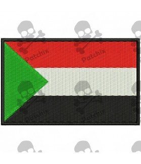 Embroidered Patch FLAG SUDAN