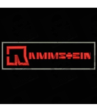 Embroidered patch RAMMSTEIN