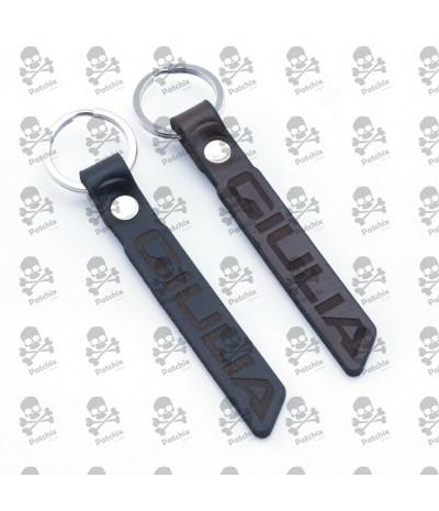 Key chain LEATHER ALFA ROMEO GIULA