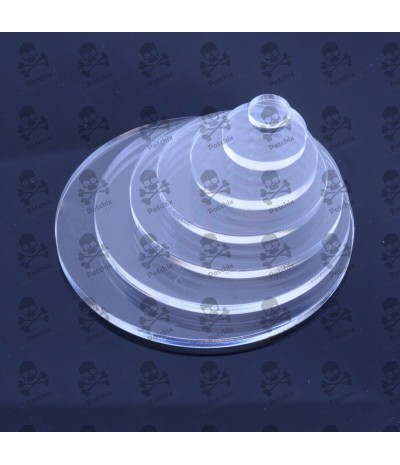 Clear Plastic Circles Cut Acrylic Disc Custom Sizes