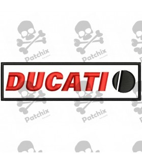 Iron patch Motorcycle DUCATI