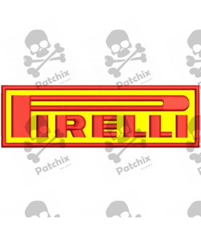 Embroidered Patch PIRELLI