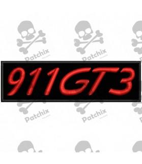Iron patch PORSCHE CARRERA 911GT3