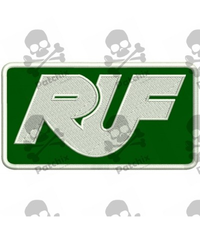 Embroidered Patch RUF