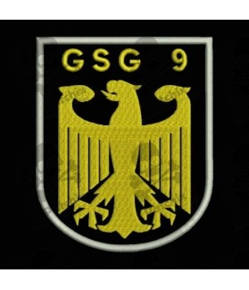 Embroidered patch GSG9