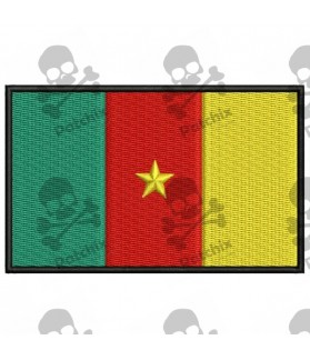 Embroidered patch CAMERUN FLAG
