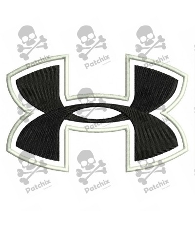 Embroidered patch UNDER ARMOUR LOGO