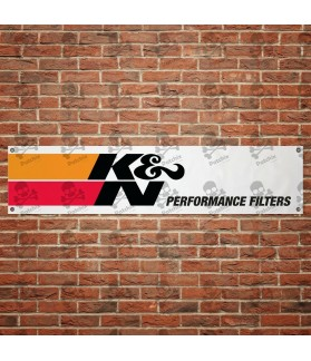 K&N AIR FILTER BANNER