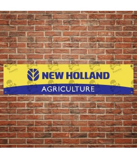 New Holland TRACTOR BANNER
