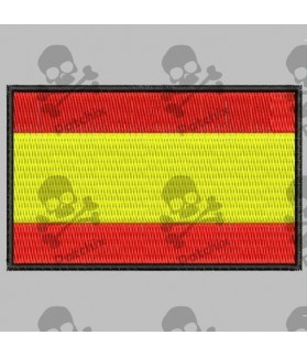 Embroidered patch SPAIN FLAG