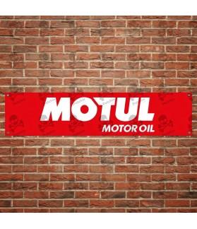 MOTUL MOTOR OIL BANNER