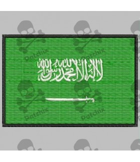 Embroidered patch ARABIA FLAG