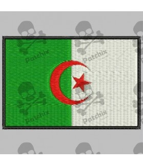 Embroidered patch ALGERIA FLAG