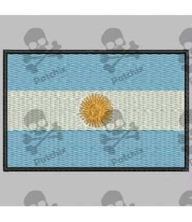 Embroidered patch ARGENTINA FLAG