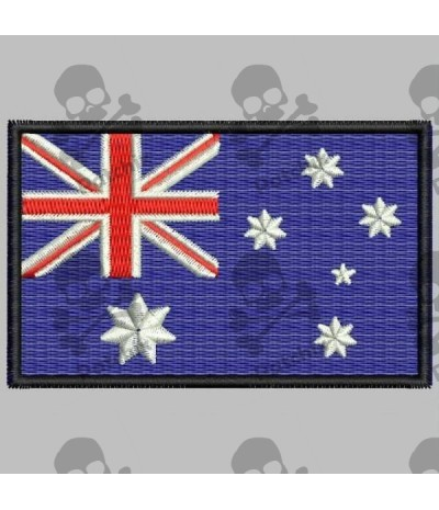 Embroidered patch AUSTRALIA FLAG