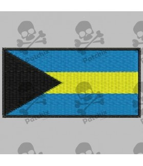 Embroidered patch BAHAMAS FLAG